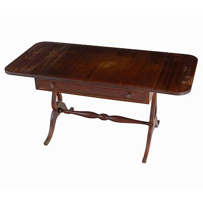 Vintage Regency Style Dropside Style Sofa Table Imported from South Africa, Mid 20th Century