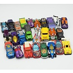 Group of Twenty Six Hot Wheels Cars