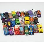 Group of Twenty Six Hot Wheels Cars