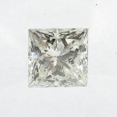 Unset 1.01ct Princess-cut Diamond