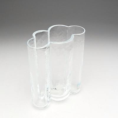 Sea Glasbruk Kosta Sweden Crystal Rune Strand Pauline Series Vase