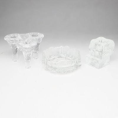 Group of Retro Scandinavian Glass