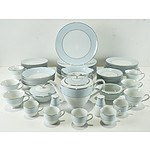 Noritake Laureate Six Piece Dinner Service For Eight