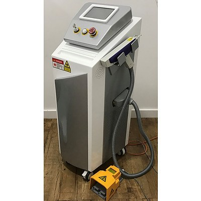 The Global Beauty Group Laser Treatment System HW-LT for Tattoo removal