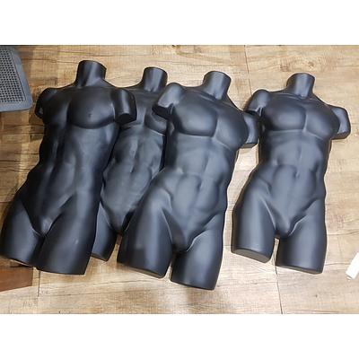 Half Cut Mannequins - Lot of 4