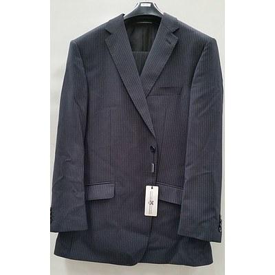 Roman Daniels Men's Pinstripe Suit Size 112NR - New