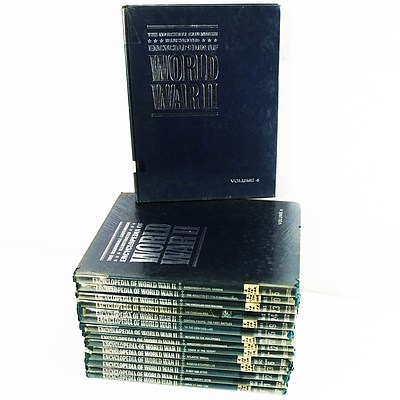 15 Volumes of the Encyclopedia of WWII