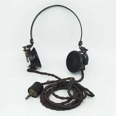 WWII Aircraft Headphones