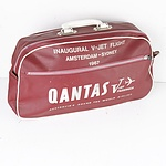 Qantas Inaugural V-Jet Flight Amsterdam-Sydney 1967 Cabin Bag