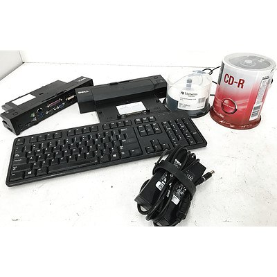 Dell Keyboards, Docking Stations, CD-Rs & Power Supplies