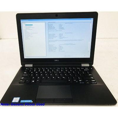 Dell Ultrabook Latitude E7270 12.1 Inch Widescreen Core i5 -6200U 2.3GHz Laptop