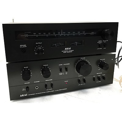 Akai Stereo Tuner & Integrated Amplifier