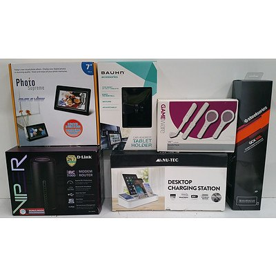 Assorted Home IT & Electronics. Lot Of 6