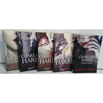 Charlaine Harris Mystery Fiction & Southern Gothic Books Lot Of 14