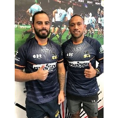 Training Session with Christian Lealiifano & Andrew Muirhead from Brumbies Rugby