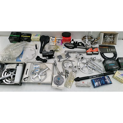 Large Selection of Bicycle Parts and Accessories - New