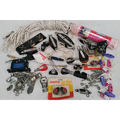 Selection Ropes, Cables, Pulleys, Cams and Cleats