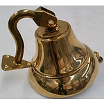 Solid Brass Wall Mount Bell