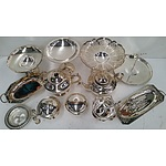 15 Piece Silver Plate High Tea Service