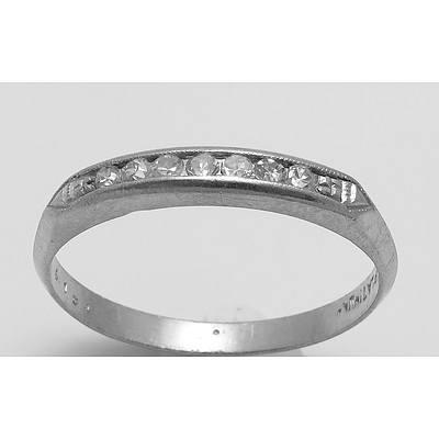 Vintage Diamond Ring Platinum