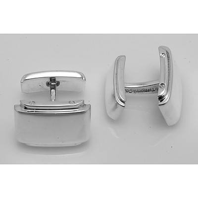Tiffany Sterling Silver Cuff Links