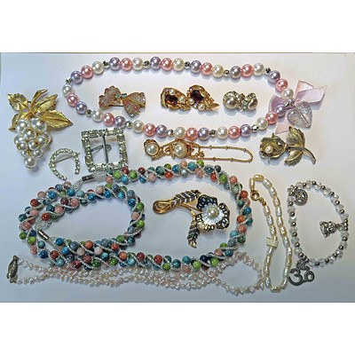 Interesting Collection of Fashion Jewellery