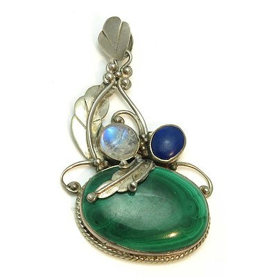 Sterling Silver Arts & Crafts Pendant