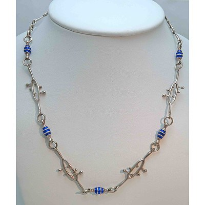 Sterling Silver Italian Necklace