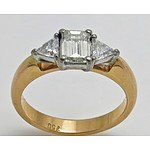 18ct Gold Diamond Ring 0.80cts