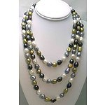 Extra Long Cultured Pearl Necklace