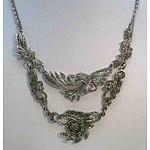 Marcasite Necklaces (x2)