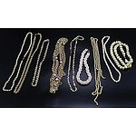 Collection of Faux Pearl Necklaces