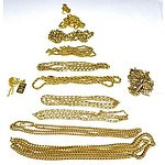 Collection of Gold-plated Chains