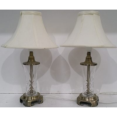 Table Lamps - Lot of Two