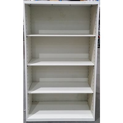 Office Specialty Metal Shelving Unit