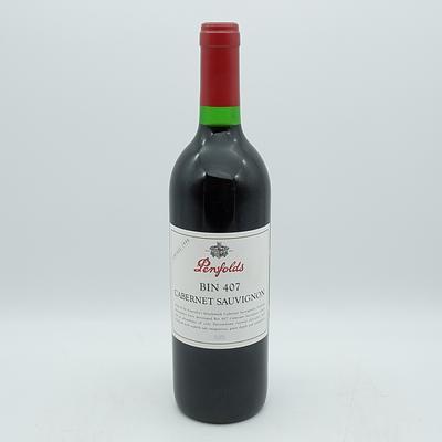 Penfolds Vintage 1998 Cabernet Sauvignon Bin 407 750mL