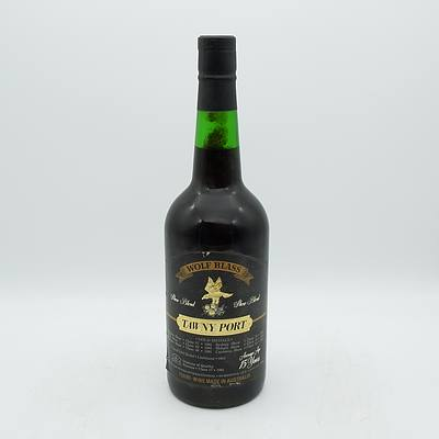 Wolf Blass 1981 Show Blend Tawny Port 750mL
