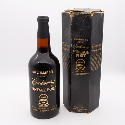 McWilliams 1977 Centenary Vintage Port 750mL