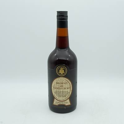 Browns 621 Tawny Port 750mL