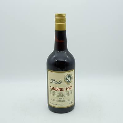 Best's 1983 Vintage Cabernet Port 750mL