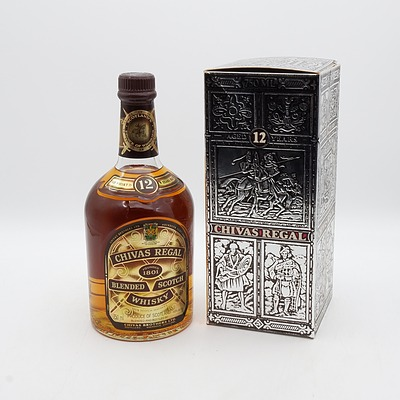 Chivas Regal 12 Year Old Blended Scotch Whisky 750mL