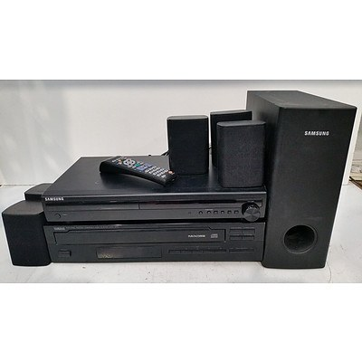 Samsung and Yamaha Audio Components - Lot of Three