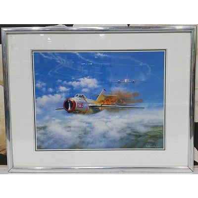 Framed Print of Aerial Dog Fight