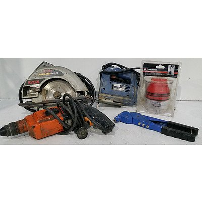 Power and Hand Tools - Lot of Five