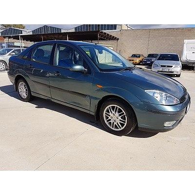 8 2003 Ford Focus Lx Lr 4d Sedan Green 2 0l
