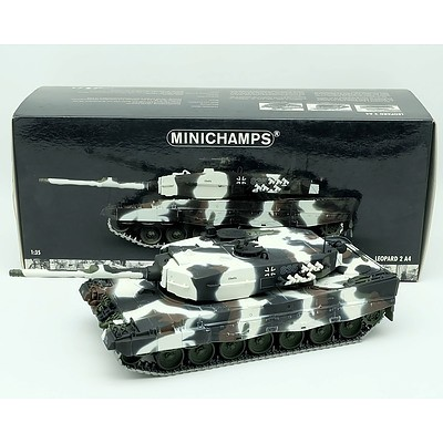 Minichamps Leopard II 1:35 Scale Model Tank