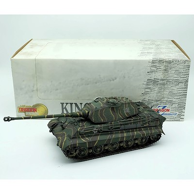 Dragon Armor King Tiger 1:35 Scale Model Tank