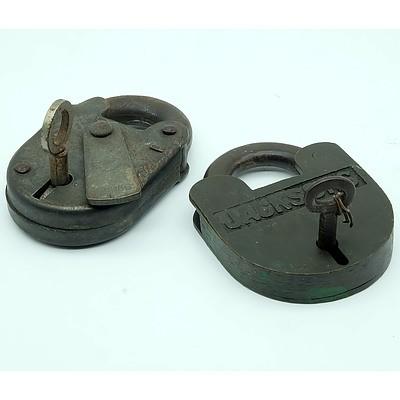 Jacksons & Chubb Locks with Keys
