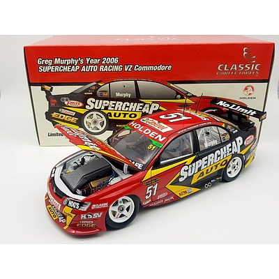 Classic Carlectables 2006 Holden VZ Commodore Supercheap Auto Racing 1:18 Scale Model Car