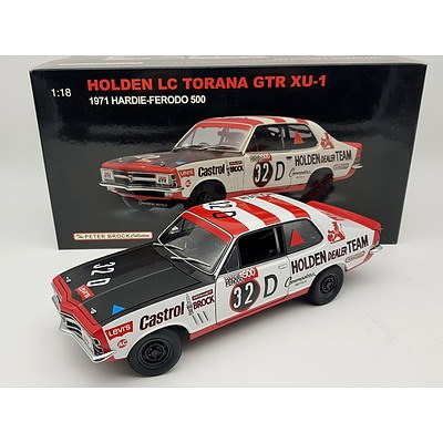 AUTOart 1971 Holden Torana LC GTR XU-1 Peter Brock 1:18 Scale Model Car